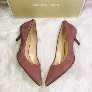 Michael Kors Kitten Pump Dusty Rose 6.5